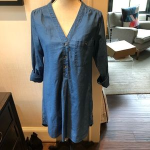 Women's H&M Denim Tunic/dress size 6